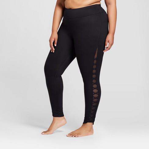 cc988623377 Women s Plus Comfort Lattice 7 8 Leggings - JoyLab...   Target