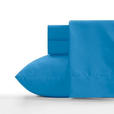 Twin Microfiber Sheet Set Cerulean Blue - Crayola