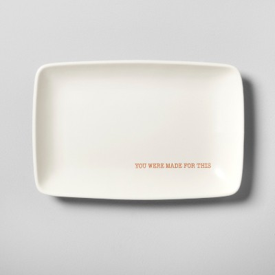 Stoneware Catchall  You Were Made For This  - Hearth & Hand™ with Magnolia
