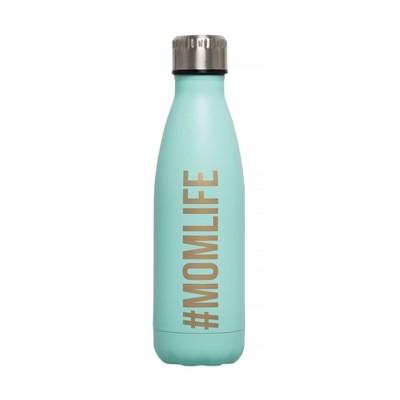 Pearhead Momlife Water Bottle - Aqua 17oz