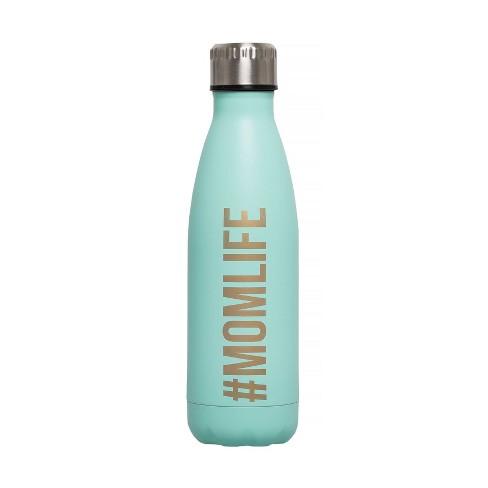 Pearhead Momlife Water Bottle - Aqua 17oz - image 1 of 4