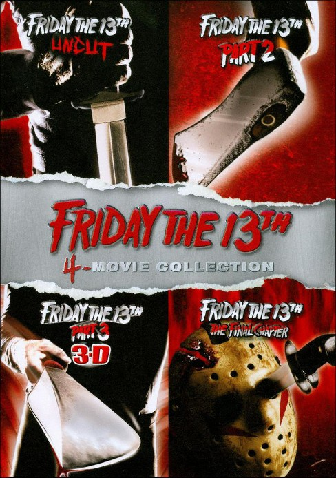 Friday the 13th: 4-Movie Collection [4 Discs] - image 1 of 1