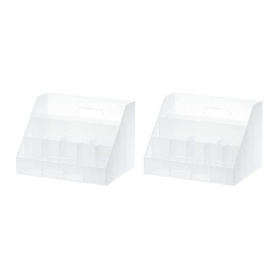 Like-It Versatile Universal Organizer Storage Solution Multi Function Tray for Home, Office, Desktop (2 Pack)