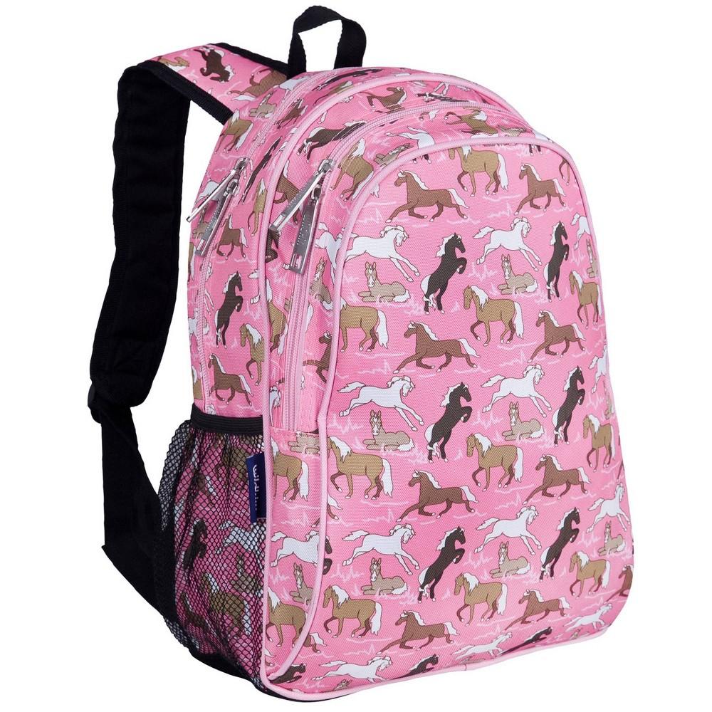 Wildkin 15 34 Horses Kids 39 Backpack Pink