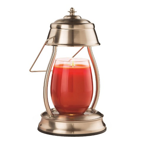 Hurricane Candle Warmer Lantern Brushed Nickel - Candle Warmers Etc.® - image 1 of 2