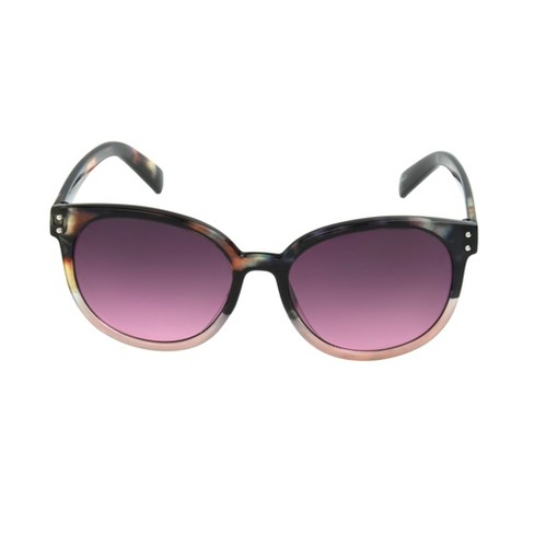 Women's Circle Sunglasses - A New Day™ Faded Lilac - image 1 of 2