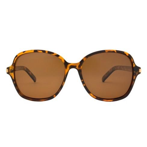 dab43ddf30 Women s Polarized Sunglasses - A New Day™ Tortoise   Target