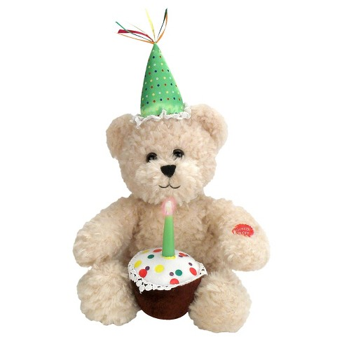 Chantilly Lane Blow out the Candle Birthday Bear - image 1 of 1