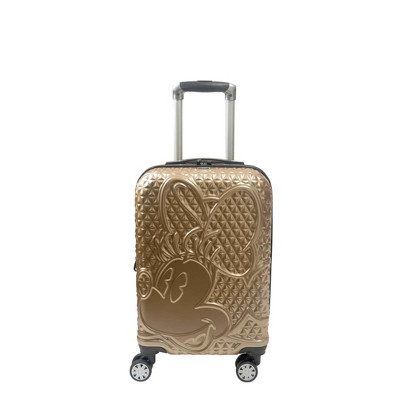 FUL Disney Minnie Mouse 21'' Hardside Suitcase - Gold