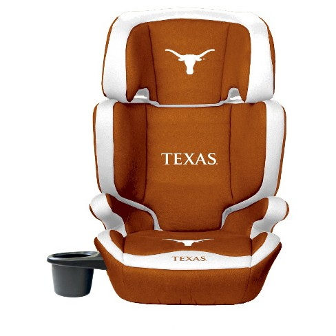 Astounding Texas Longhorns Lilfan Collegiate Club Seat Premium 2 In 1 High Back Booster Seat Unemploymentrelief Wooden Chair Designs For Living Room Unemploymentrelieforg