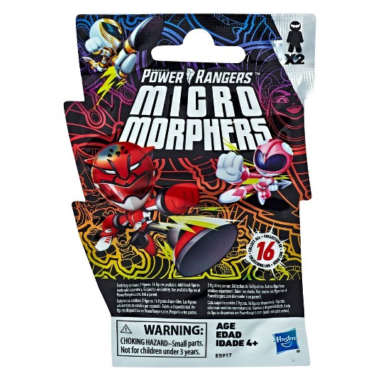 Power Rangers Toys Micro Morphers Series 1 Collectible Figures image number null