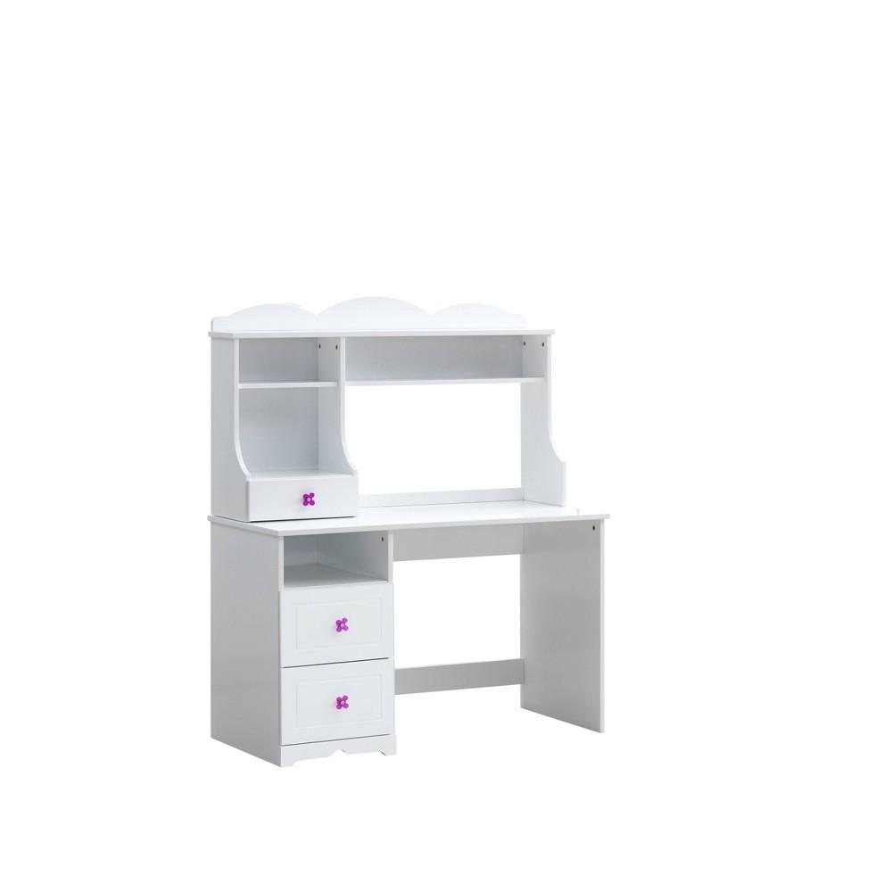 Meyer Desk Table White - Acme Furniture Meyer Desk Table White - Acme Furniture