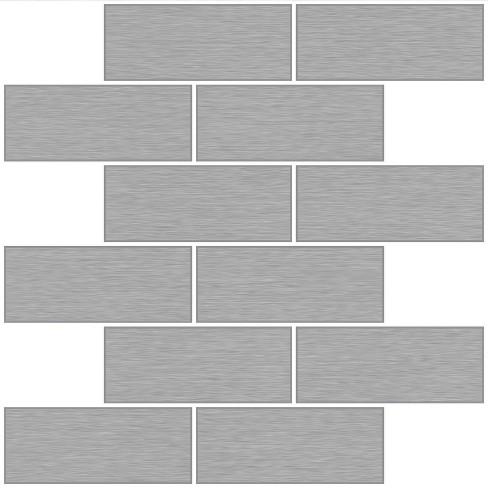 L Stick Backsplash Tile Wallpaper