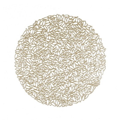 4pk Pressed Petal Placemats Champagne - Chilewich