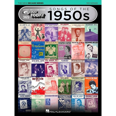 Hal Leonard Songs Of The 1950s - The New Decade Series E-Z Play Today Volume 365 - image 1 of 1