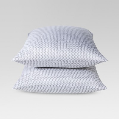 Performance Printed Pillowcase (Standard)Gray 400 Thread Count - Threshold™