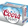 Coors Light Beer - 24pk/12 fl oz Cans - image 4 of 4