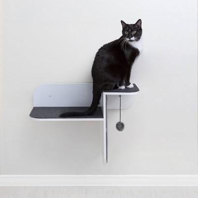 Hauspanther Step Perch Cat Scratcher - White