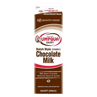 Umpqua Whole Chocolate Milk - 1qt
