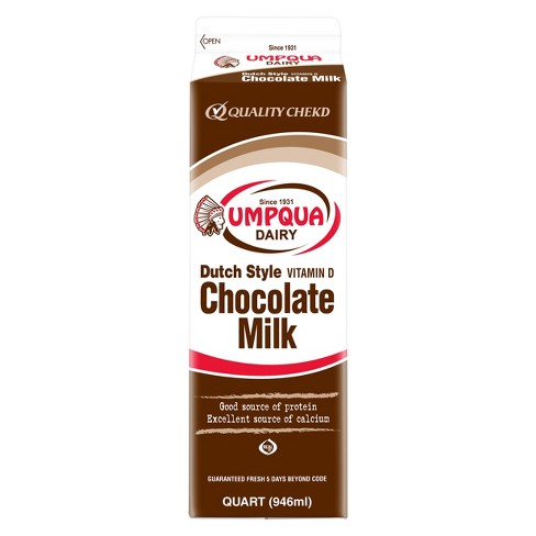 Umpqua Whole Chocolate Milk - 1qt - image 1 of 1