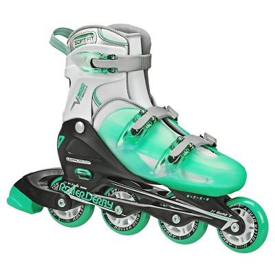 Roller Derby Girl's V-Tech 500 Adjustable Inline Skates - (6-9)