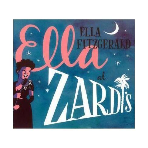 Ella Fitzgerald - Ella At Zardi's (CD) - image 1 of 1
