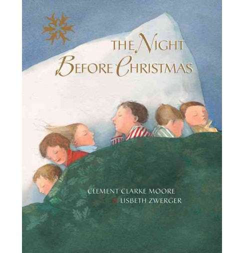 Night Before Christmas (Hardcover) (Clemens Clarke Moore) - image 1 of 1