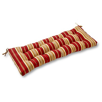 Outdoor Swing/Bench Cushion - Roma Stripe - Greendale Home Fashions