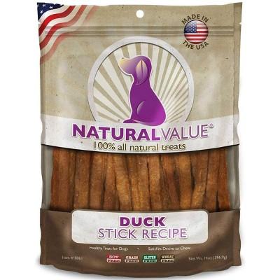 Loving Pets Natural Value Soft Chew Duck Sticks (14 oz Pack)
