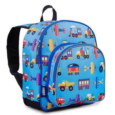 """Wildkin 12.5"""" Olive Pack 'n Snack Kids' Backpack"""