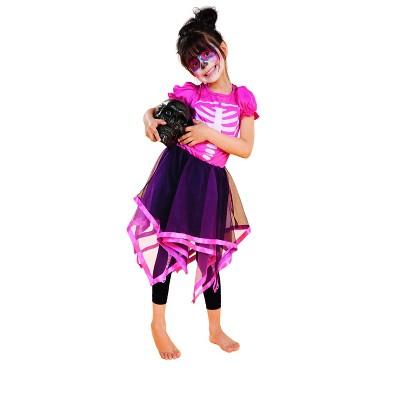 Northlight Skeleton Girls Kids Halloween Costume - Large