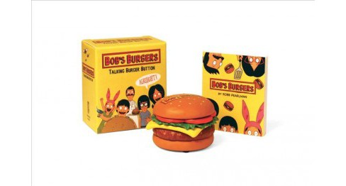 Bob's Burgers Talking Burger Button -  by Robb Pearlman (Accessory) - image 1 of 1