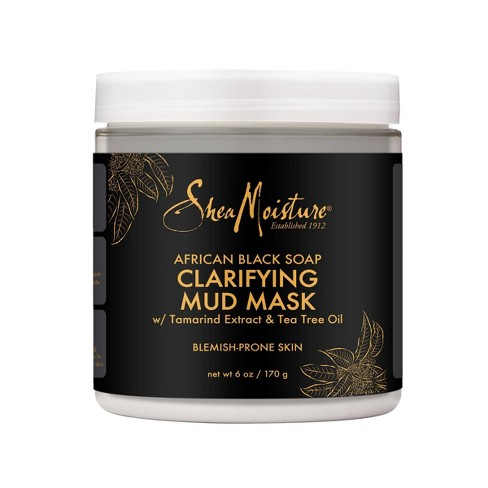 SheaMoisture African Black Soap Clarifying Mud Mask - 6oz - image 1 of 4