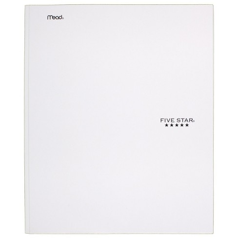 Five Star 2 Pocket Paper Folder with Prongs  - image 1 of 3