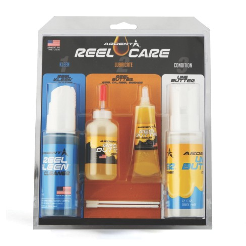 Ardent Reel Care 3 Step Pack for Complete Fishing Reel Maintenance - image 1 of 4