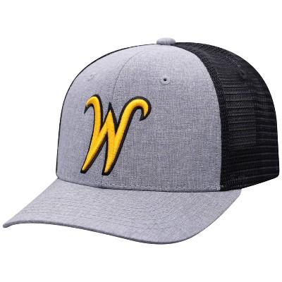 NCAA Wichita State Shockers Men's Gray Chambray with Hard Mesh Snapback Hat