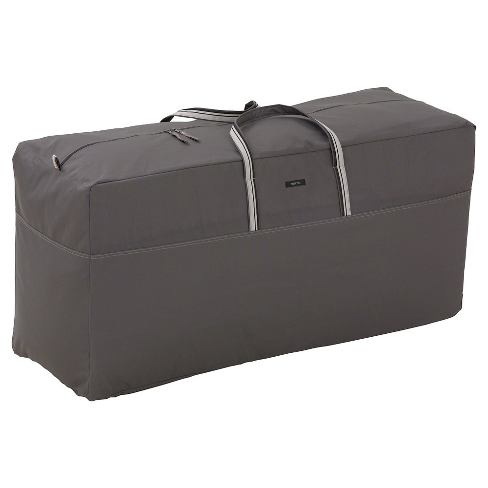 Image of Classic Ravenna Cushion Storage Bag-Dark Taupe
