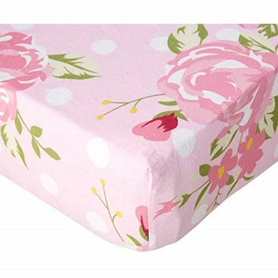 Baby Fitted Sheet My Baby Sam Pink