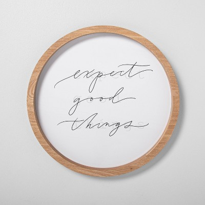 'Expect Good Things' Wall Art - Hearth & Hand™ with Magnolia