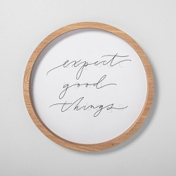 Expect Good Things Wall Art - Hearth & Hand™ with Magnolia