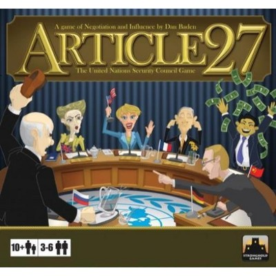 Article 27 - The UN Security Council Game Board Game