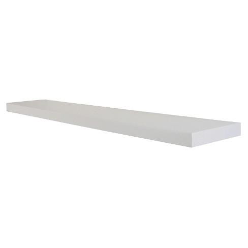 Decorative Wall Shelf - Simple White - image 1 of 3