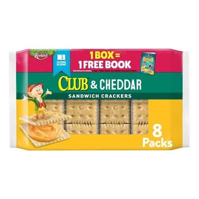 Keebler Club & Cheddar Sandwich Crackers - 8ct