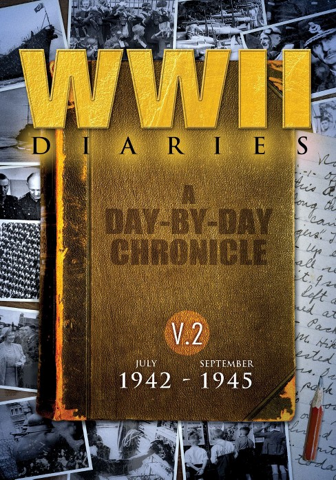 WWII Diaries, Vol. 2: July 1942-September 1945 (10 Discs) (dvd_video) - image 1 of 1