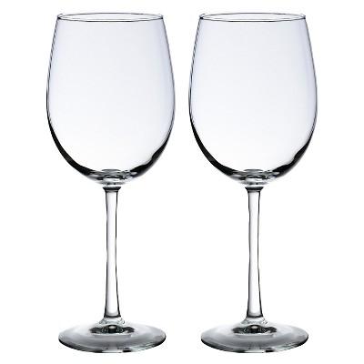 19oz 2ct Wine Glasses