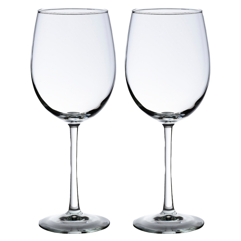 Image of 2ct Wine Glasses, Clear, Drinkware