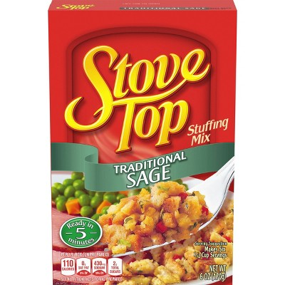 Stove Top Traditional Sage Stuffing Mix - 6oz