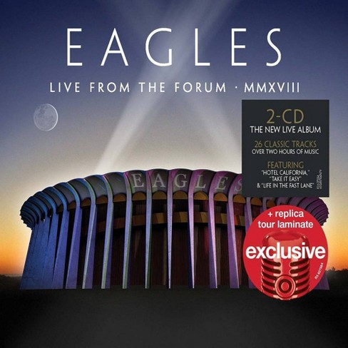Eagles - Live From the Forum MMXVIII (Target Exclusive, CD) - image 1 of 1