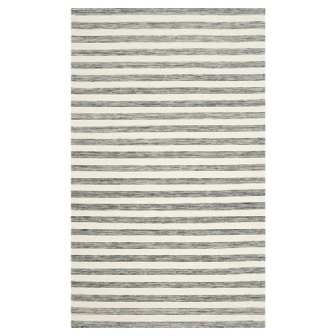 Roland Dhurrie Stripe Area Rug - Safavieh - image 1 of 1