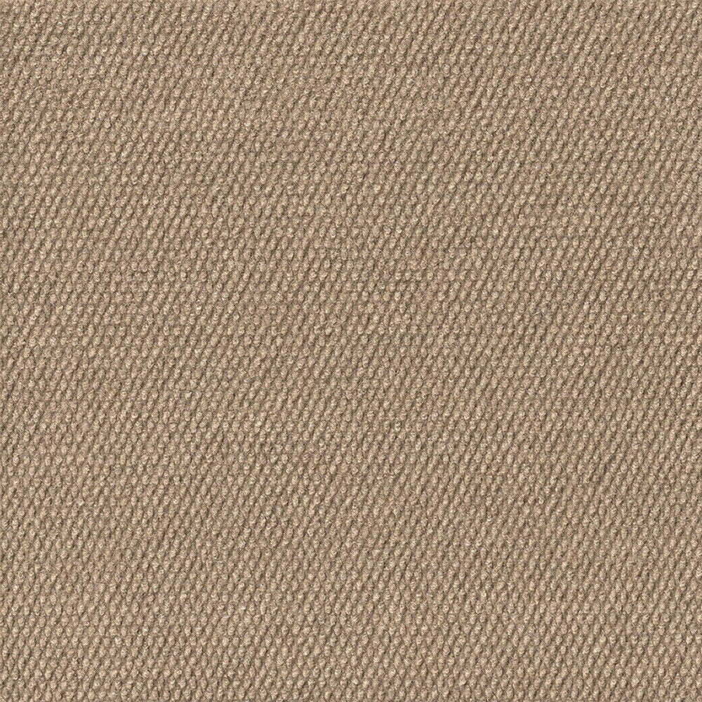 "Image of ""18"""" 10pk Hobnail Extreme Carpet Tiles Taupe - Foss Floors"""